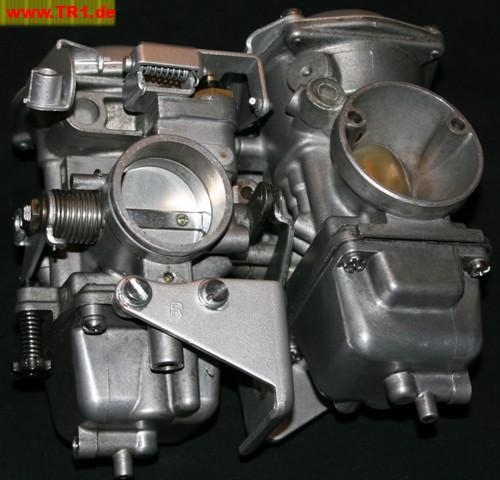 XV 750 SE - Vergaser renovierungsbedürftig - Oha - TR1
