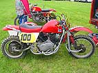 Kari Tuominen's (Finland) 1985 classic Wasp motocross side car