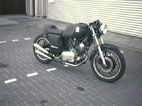 Ronald sent me pictures of his cafe racer. [1 of 3]