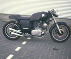 Ronald sent me pictures of his cafe racer. [2 of 3]
